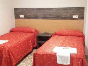 Habitación doble hostal copacabana